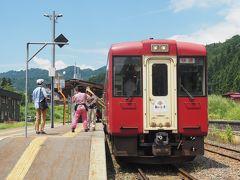2019.08 お盆の信越・鉄道旅行(3)飯山線の観光列車「おいこっと」に乗ってみた、長野県編。