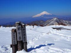 2018年最初の百名山遠征 丹沢山と富士屋ホテル宿泊