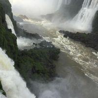 イグアスの滝 ブラジル側散策、そして飛行機を乗り継ぎ帰国