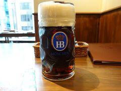 喉が渇いたのでしかたない……Zum Bierhof Neu(ツム・ビアホフ・ノイ)でビールぐびぐび!