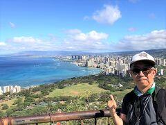 フライングホヌで翔んだホノルルでダイヤモンドヘッド登頂!(オアフ島)