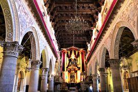 魅惑のシチリア×プーリア♪ Vol.284 ☆エンナ:美しい大聖堂 エンナの象徴である赤のカーテン♪