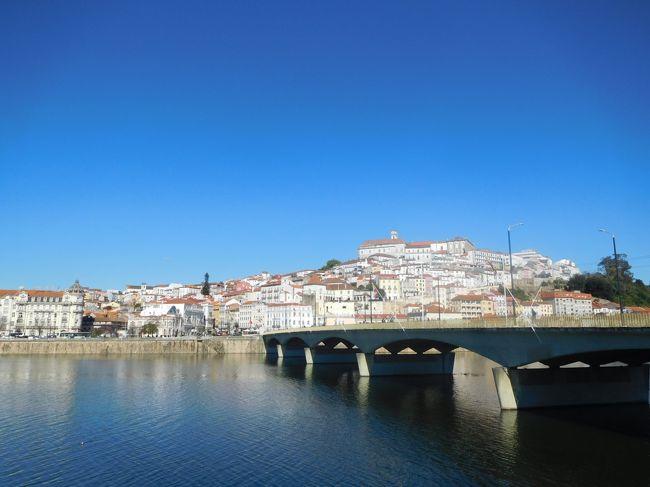 2019年3月は2度目のポルトガルをメインに周遊しました。前回ポルトガルに行ったのは2005年、この時はスペイン周遊がメインで、ポルトガルはリスボンとリスボンから日帰りツアーで行ける中南部しか行きませんでした。今回はポルトなどの北部、そしてスペインに入ってサンチアゴ・デ・コンポステーラにも行きました。<br /> 南部も中部、北部もどの街も街並みが絶句するほど美しく、建物もカテドラルや教会など壮大で素晴らしかったです。<br /><br />---------------------------------------------------------------<br />スケジュール<br /><br /> 3月16日 羽田空港-パリ空港-リスボン空港 [リスボン泊] <br /> 3月17日 リスボン-(バス)エヴォラ観光-リスボン<br />      [リスボン泊]<br /> 3月18日 リスボン-(列車)シントラ駅-(バス)ペーナ宮殿観光-<br />      (バス)王宮-シントラ駅-リスボン観光 [リスボン泊] <br /> 3月19日 リスボン-(バス)ナザレ観光-(バス)コインブラ観光<br />     [コインブラ泊] <br />★3月20日 コインブラ観光ー(列車)ポルト観光 [ポルト泊]<br /> 3月21日 ポルト観光 [ポルト泊]<br /> 3月22日 ポルトー(列車)ギマランイス観光ーポルト観光-(バス)<br />     -サンチアゴ・デ・コンポステーラ観光<br />     [サンチアゴ・デ・コンポステーラ泊]<br /> 3月23日 サンチアゴ・デ・コンポステーラ観光 <br />     [サンチアゴ・デ・コンポステーラ泊]<br /> 3月24日 サンチアゴ・デ・コンポステーラ-ー(列車)<br />     マドリード・チャマルティン駅ー(列車)-マドリード空港<br />     -ドーハ空港 <br /> 3月25日 -成田空港