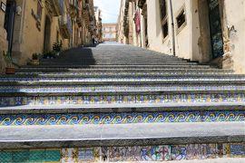 魅惑のシチリア×プーリア♪ Vol.290 ☆カルタジローネ:タイルの美しい大階段♪