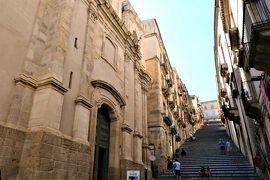 魅惑のシチリア×プーリア♪ Vol.302 ☆カルタジローネ:再び大階段を眺めてお別れ♪
