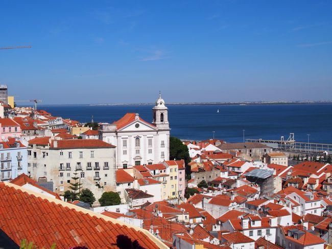2019夏 ポルトガル・スペイン一人旅②【エミレーツビジネスクラス行くでリスボン初日アルファマ地区を歩く編♪】