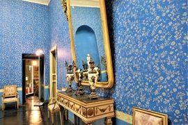 魅惑のシチリア×プーリア♪ Vol.310 ☆ドンナフガータ城:優雅な宮殿生活 美しい青の部屋♪