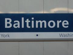 NYC Penn Station からWashington D.C.のUnion StationまでAmtrakのたび。