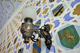 魅惑のシチリア×プーリア♪ Vol.316 ☆ドンナフガータ城:優雅な宮殿生活 豪華な紋章の間♪