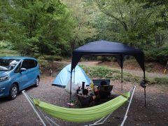 大雨警報~からの郡上八幡リバーウッドオートキャンプ場