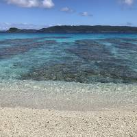 夏の終わりの沖縄一泊二日。慶良間ブルーの海でsupとシュノーケリング。