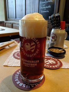 夏のザルツブルクと南ドイツ【3】ニュルンベルクの赤いビールを求めて