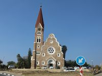 南部アフリカ旅行6 -ウィントフックの町なみ-