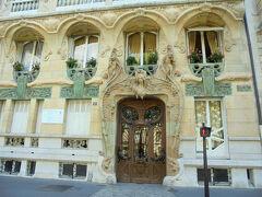 夏のフランス・ベルギー・ルクセンブルク 2.パリでアールヌーボー建築巡りと写真の撮ってもらい方