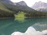 初夏のカナディアン・ロッキー2019 Day3-9(夕方以降のEmerald Lake Trail)