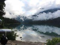 初夏のカナディアン・ロッキー2019 Day4-1(朝、Emerald Lakeを出発!)