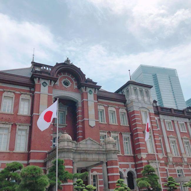 お越し頂きありがとうございます。<br />最新旅行記(2019年夏旅、沖縄へ)から遡っていく予定の旅行記の予定ですが、ついに?早くも?(笑)新しい旅が上書きされました~。<br />今回は夫の還暦のお祝いに乗じて、私が泊まってみたかった(笑)東京ステーションホテルに宿泊して参りました。都内は泊まる程は遠くはないのですが、あえての宿泊、朝食が美味しいと聞いていて(基本的に宿泊者以外は食べられない、年に何度かは宿泊者ではなくとも朝食を食べることができるようです)ずっとチャンスを待っていました~願えば叶うものですね(笑)<br /><br />登録してから多くの方にお越し頂いているようで光栄の極み。たくさんのいいねも頂いております、感謝です。いいねを頂いた皆様の旅行記も見させて頂いております。SNSに不慣れなので、ぺたぺたと足跡をつけまくったりしていたらごめんなさい、コメントやフォローもして頂いたらとても喜びます。<br />どなたかのお役に立てれば幸い、マイペースで書いて参ります、どうぞよろしくお願い致します。<br />