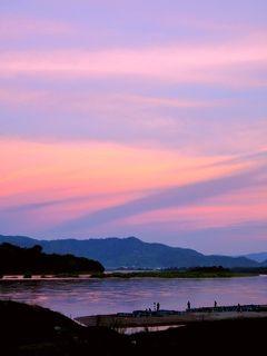 2019年 7月 メコン川の夕焼けを見ながら幸せのカタチを考えた日@チェンコーン
