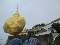 ミャンマー再訪の旅(17)             ゴールデンロックは雨。