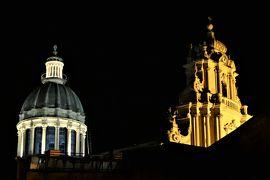 魅惑のシチリア×プーリア♪ Vol.353 ☆ラグーザ:夜景の美しいサン・ジョルジョ大聖堂♪