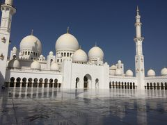 西ヨーロッパひとり旅⑩ 関空水没で帰国便欠航、アブダビでトランジット観光