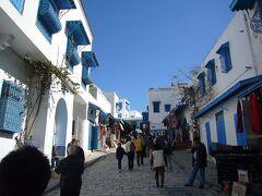 チュニジア7日間の旅(8) チュニス旧市街とシディ・ブ・サイド