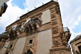 魅惑のシチリア×プーリア♪ Vol.371 ☆美しきシクリ旧市街 バロック装飾の美しいパラッツォ♪