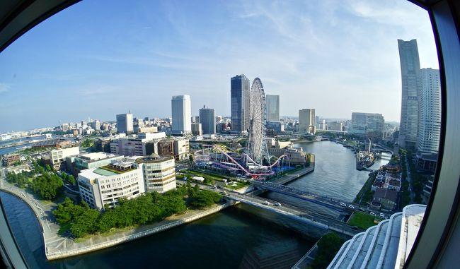 横浜のインターコンチネンタルホテル横浜に宿泊してみました。<br /><br />私は、80年代半ばまで、横浜に住んでいました。90年代初に海外に出てしまいましたので、今見るこの場所の様相は、全く面影がないほど、発展しています。<br /><br />でも、このインターコンチだけは、昔のまんま。<br /><br />当時は、トレンディードラマ全盛で、『世界で一番君が好き!』・『恋のパラダイス』・『東京ラブストーリー』・『101回目のプロポーズ』etcetc....なんぞが流行っていた時代です。<br /><br />私の記憶は、そこで止まってしまっていますので、その時代の世相とこのホテルのイメージが重なってしまいます。<br /><br />す~っごく懐かしい限りです...<br />