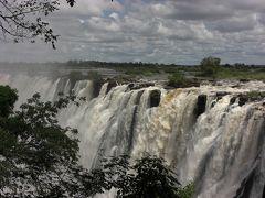 世界一周の思い出 ザンビア ビクトリアの滝すげー