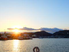 2018.1 真冬の長崎旅行② 軍艦島、市内観光