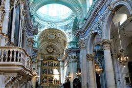 魅惑のシチリア×プーリア♪ Vol.387 ☆美しきモディカ旧市街 サンジョルジョ大聖堂は白亜の大空間♪