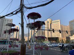 中国甘粛省・蘭州 早朝お散歩