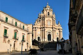 魅惑のシチリア×プーリア♪ Vol.399 ☆朝のラグーザ旧市街散歩:朝日を浴びて輝くサンジョルジョ大聖堂♪