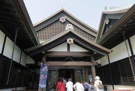 2018春、四国の百名城巡り(7/42):3月25日(7):徳島城(1):徳島城博物館、蜂須賀家政像、西三の丸、西二の丸