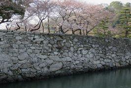 2018春、四国の百名城巡り(10/42):3月25日(10):徳島城(4:完):表御殿庭園、数寄屋橋、土佐の日本酒