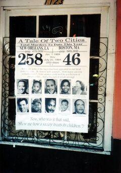 1994年 久し振りの周遊 7/8 :ニューオーリンズ前篇 (再びアメリカに、街歩きは恐ろしい?)