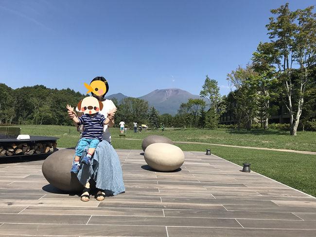 2018年、夏休み後半は軽井沢へ!<br />前半は愛犬を預けての北海道旅行でしたが、愛犬をペットホテルからピックアップして、一日休憩を挟み、残りの夏休みを満喫しました(^-^<br /><br />ブログにもアップしました★<br />■2018年夏休み後半 子連れ&amp;ワンコ連れ ~東急ハーヴェストクラブ軽井沢&amp;VIALA<br />https://ameblo.jp/kakarinto/entry-12520881560.html<br /><br />オープンしてまだ10日、どこもかしこもピッカピカなホテルです☆<br /><br />お部屋はVIALAのペットルーム。<br />VIALAの通常のお部屋にも泊まりましたが、こちらの方が広々として良かったです。<br /><br />8月上旬、本来なら涼しい軽井沢で避暑を・・・、と思っていましたが、ものすごく暑い三日間で、一歳7か月の子連れ・ワンコ連れの私たちはほとんど部屋から出ることが出来なかったのですが、広々としたお部屋と大きなジャグジーのおかげで子供は大喜び!<br /><br />楽しい夏休み後半となりました。<br /><br />VIALAでの滞在記録です。<br /><br /><br />■旅の目次■<br /><br />・2018年夏休み後半 1歳7か月子連れ&amp;ワンコ連れ ~東急ハーヴェストクラブ軽井沢&amp;VIALA①<br />https://4travel.jp/travelogue/11539626<br /><br />・2018年夏休み後半 1歳7か月子連れ&amp;ワンコ連れ ~東急ハーヴェストクラブ軽井沢&amp;VIALA②<br />https://4travel.jp/travelogue/11539911