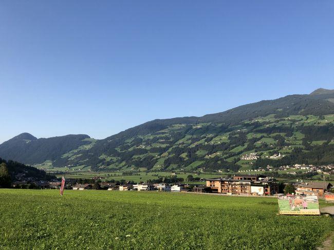 2019 チロルでハイキング三昧!ウィーンで博物館めぐり♪(1)いざチロルへ!ANA直行便とレイルジェットでツィラタール入り