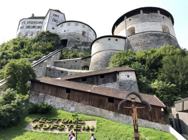 2019 チロルでハイキング三昧!ウィーンで博物館めぐり♪(3)中世のパイプオルガン響くクーフシュタイン城塞と街歩き