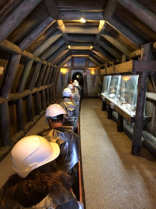 2019 チロルでハイキング三昧!ウィーンで博物館めぐり♪(4)中世の街シュバーツで銀鉱山の冷涼坑内トロッコツアー♪