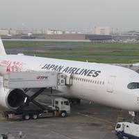 残暑の九州(2)就航したばかりのJALエアバスA350ファーストクラスで福岡へ