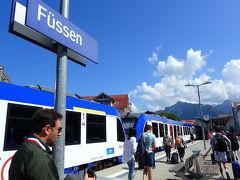 ドイツ4都市ひとり旅 day1・2@ミュンヘン・フュッセン