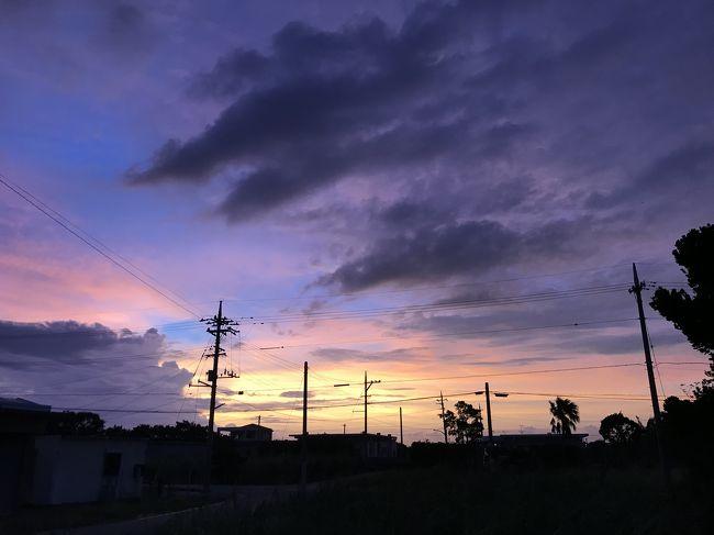 1年ぶりの宮古島は行く前から波乱の連続でありました。<br />当初の予定では夏季休暇2日と誕生日休暇1日使って9/5~9/9で組んでいたのですが、<br />なんと出発3日前になって台風13号が沖縄の南に発生。<br />しかも鈍足で猛烈で、なんどGPVとにらめっこしても5日に直撃。<br />一通り凹んだあと、ただでは起きない主義の私はとりあえず6日のジェットスターの空席をチェック。<br />一桁!!!<br /><br />これは欠航決まってからでは席がないと判断、幸いちゃっかりプラスをつけていたので差額で変更可能だったため、差額2000円のうちに6日に便を変更。<br />万が一飛んでも5日は確実にどこにも行けない。<br />案の定4日と5日は欠航したので英断でした。<br /><br />ジェットスターとJALと怒涛のやりとりを激務の隙間で繰り返し(この詳細は伏せる)、前乗りの宿も予約変更し、<br />同僚が一日ずらしなよ!と言ってくれたのと木曜実際忙しかったので、木曜取る予定の休みを火曜にズラし、<br />なんとか旅程を9/6~9/10に変更。<br />シャトルバスだけは予約変更できなかったので、<br />木曜は17時まで働いてから成田直行しました。<br /><br />下地島空港行きの直行便は早朝なので始発でも間に合わず、ナインアワーズに泊まってから行く計画でした。<br />スーパーディールだから30%還元されるぞー<br /><br />宮古のゲストハウスだけは3日前から悪天候だろうとなんだろうと容赦無く100%のキャンセル料取る血も涙もない仕様だったので仕方なく延泊だけして。<br /><br />仕事忙しかったからこの日出勤にしてよかったー<br />そのあと大丈夫だったかな…怖くて会社のメールは見ていない