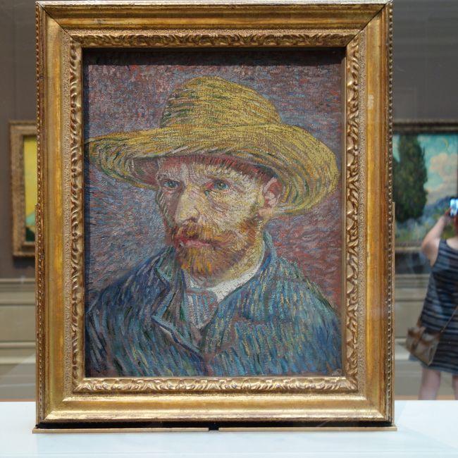 メトロポリタン美術館で近代絵画を満喫しました。MoMAにない絵画です。