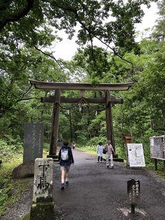 野尻湖・立山登山、そして急遽「延長しま~す」と松本滞在4日目5日目