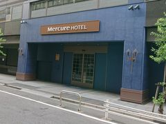 メルキュールホテル銀座東京 (2019_09_09)宿泊。台風15号通過後の銀座