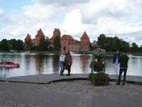9月 バルト3国の旅 �リトアニア トラカイ城