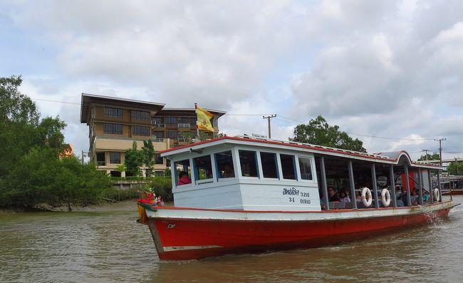 2019年8月バンコク旅行6日目☆2(BTSパークナム駅から川を渡りワットサークラーへ1)
