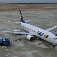 第49回海外旅/パンスタークルーズ[往路]&ソウル・その1.スカイマークで神戸に向かおう。