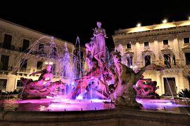 魅惑のシチリア×プーリア♪ Vol.441 ☆シラクーザ:夜景の美しいオルティージャ島旧市街♪